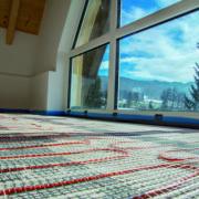 Elektrische Fußbodenheizung - nie mehr kalte Füsse