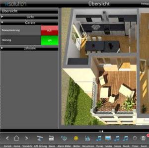 komfort im eigenheim mit smart home living. Black Bedroom Furniture Sets. Home Design Ideas